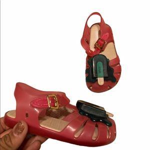 Mini Melissa Melting Popsicle Sandals Us 7